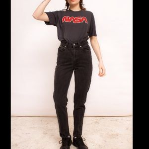 Vintage 90s black Calvin Klein high waisted jeans